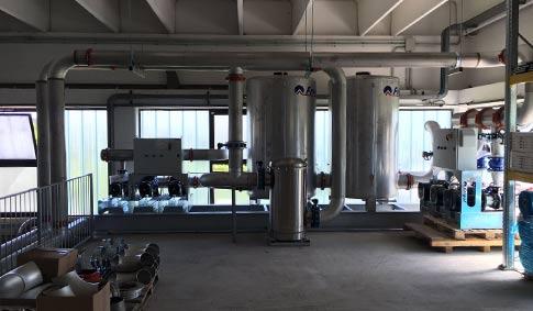 Impianto di raffreddamento Reggio Emilia